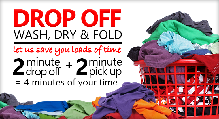SpinCo Laundromats Drop Off Service, Wash Dry and Fold